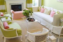 pink & green color schemes / by Bratenella