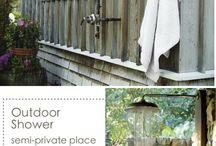 Outdoor home ideas / by Karen Amanda