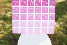 Wedding ~ Tableplans / by Aphrodite's World / Weddings