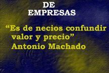 Valoración de Empresas / by David Lozano