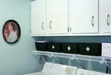 Laundry room / by Jennifer Bazan-Weege