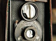 Vintage cameras & facts/ Info / by Peggy Whitson