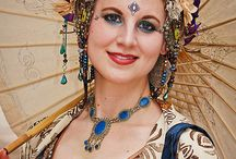 Costuming Tribal Fusion / Renaissance Festivals, Tribal Fusion, Gothic, Steampunk, Belly Dance garb / by Libra Vox