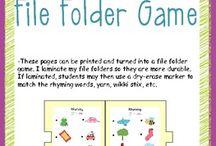 file folder games / by Amber Auldridge