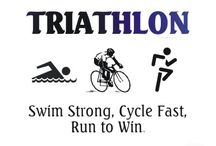 Triathlon / What's not to love about a triathlete? / by Lisa Holdener-   Desire. Perspire. Inspire.