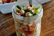 salads / by Sherry Stawnychy