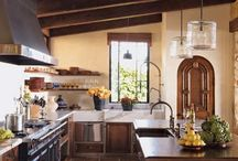 Italian Kitchen Design Ideas / The Italians understand how to make a beautiful and functional kitchen. Here are some ideas we can steal.  / by Emilia Ceramics