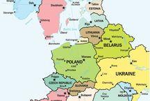 E. Europe, Turkey and Russia / by Carolina de Heine