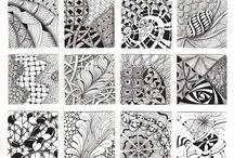 <3 Doodles|Tangles|Zentagles / by Fê Ikeda
