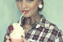 Tattoos/Piercings / by Alina Smile