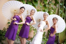 Purple Wedding Ideas / If you are having a #purple themed #wedding than use this #ideas board for inspiration.  / by Forever Fascinators