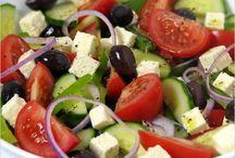 yummy salads / by Marita Sankes