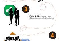 Social Media Info / by Judy Davis ~ The Direction Diva