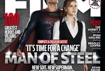 Total  Film Magazine May 2013 / Total Film The Heroes and Villains Issue #205 May 2013 releases on March 18! Exclusive interview and images! / by Man of  Steel Fan Page