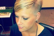 Short hairstyles / Short and beautiful  / by Kay