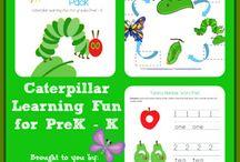 PreK C-caterpillars / by Samantha