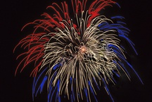 BOOM!!!,Celebrate red, white, and blur / by kelly hicks