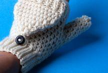 crochet gloves / by Kolleen Barlow