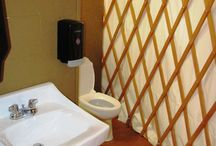 Yurt bathrooms / Yes, you can have a bathroom in a yurt. / by Colorado Yurt Company