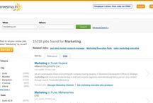 Marketing Jobs on Careesma.in / More than 15318 marketing jobs are waiting for you on Careesma.in an International job portal. / by Careesma.in India