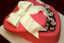 Valentine Cakes Ideas / by Fancy Fondant Cakes by Emily Lindley