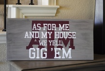 Fighting Texas Aggies!!! / by Carmen Moore