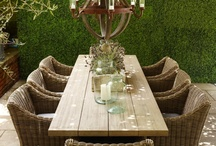 Decor {Back Yard} / Back yard décor, back yard landscaping, outdoor décor, outdoor landscaping, etc. / by Amanda Santee