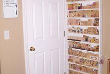 Craft room storage / by Linda Hunter