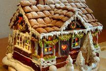 gingerbread house / by Brandi Hall