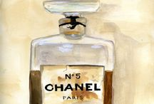 Chanel Illustrations / by Elva Tapia