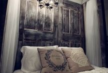 Vintage Farmhouse Style Bedrooms / by Dyrece Evans