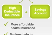 What is an HSA? / A health savings account (HSA) combines high deductible health insurance with a tax-favored savings account. Money in the savings account can help pay the deductible. Once the deductible is met, the insurance starts paying. Money left in the savings account earns interest and is yours to keep. / by A+  Brokerage Insurance and Financial Services