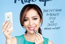 Make Up: Your Guide to Beauty, Style, and Success–Online and Off / This board is all about what inspired me to write my new book. To order it, visit http://michellephan.com/make-up-your-life / by Michelle Phan