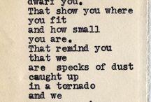 Words / by Kristin Kreiner