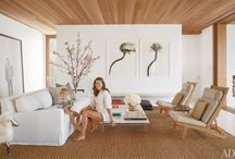 Living in Style / Living rooms and comfortable living vignettes / by Lynne Headley