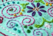 Embroidery/Cross-Stitch / by Tammy Willyard