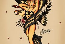 sailor jerry boxing eagle tattoo  American traditional ...