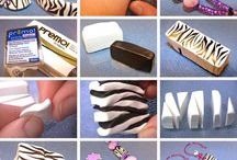 Clay cane tutorials / Polymer Clay cane tutorials and inspirations / by Sharon Robinson