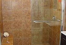 walk-in-shower / by Katelyn T