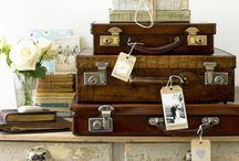 Theme: Suitcases Maps and Travel / by Joanne White