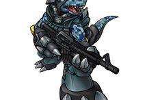 Digimon / by Rynne D