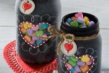Mason jar ideas / by Diana Wardell
