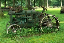 old tractors / by Pamela Palmer