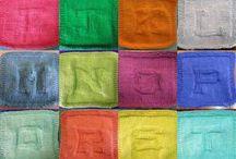 knitting patterns - dishcloths / by Rebecca Boren