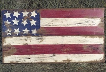 American Flag Signs / by Theresa Krier