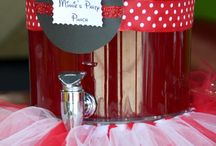 Minnie mouse party / by Heather Liddell
