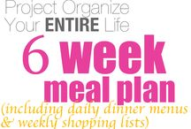 Meal Planning / by Katie Bettis Fisher