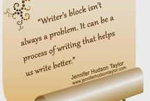 Writing Quotes / by Jennifer Hudson Taylor