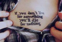 tattoos.  / by Victoria Yartz