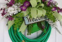 Spring wreaths / by Jennifer Fortin